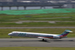 senyoさんが、羽田空港で撮影した日本エアシステム MD-90-30の航空フォト(写真)