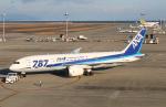 なごやんさんが、中部国際空港で撮影した全日空 787-8 Dreamlinerの航空フォト(写真)