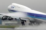 EarthScapeさんが、伊丹空港で撮影した全日空 747-481の航空フォト(写真)