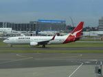 CLIP@h.s.さんが、シドニー国際空港で撮影したカンタス航空 737-838の航空フォト(写真)