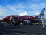 CLIP@h.s.さんが、ホバート国際空港で撮影したヴァージン・ブルー 737-7Q8の航空フォト(写真)