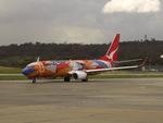 CLIP@h.s.さんが、メルボルン空港で撮影したカンタス航空 737-838の航空フォト(写真)