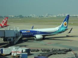 シフォンさんが、タンソンニャット国際空港で撮影したノックエア 737-8FZの航空フォト(写真)