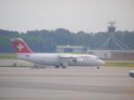 KOSEIさんが、ミラノ・マルペンサ空港で撮影したスイスインターナショナルエアラインズ Avro 146-RJ100の航空フォト(写真)