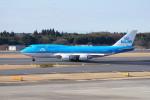 pringlesさんが、成田国際空港で撮影したKLMオランダ航空 747-406Mの航空フォト(写真)