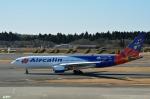 妄想竹さんが、成田国際空港で撮影したエアカラン A330-202の航空フォト(写真)