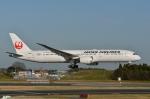 妄想竹さんが、成田国際空港で撮影した日本航空 787-9の航空フォト(写真)