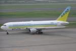 なぁちゃんさんが、羽田空港で撮影したAIR DO 767-281の航空フォト(写真)