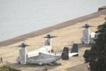 さちやちさんが、佐世保基地で撮影したアメリカ海兵隊 MV-22Bの航空フォト(写真)