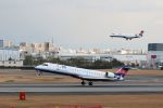 山河 彩さんが、伊丹空港で撮影したアイベックスエアラインズ CL-600-2C10 Regional Jet CRJ-702の航空フォト(写真)