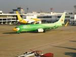RUNWAY24さんが、ドンムアン空港で撮影したノックエア 737-8FHの航空フォト(写真)