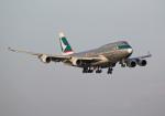 PGM200さんが、関西国際空港で撮影したキャセイパシフィック航空 747-412(BCF)の航空フォト(写真)