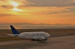 リリココさんが、中部国際空港で撮影したボーイング 747-409(LCF) Dreamlifterの航空フォト(写真)