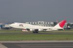 KAzHKDさんが、名古屋飛行場で撮影した日本航空 747-146B/SR/SUDの航空フォト(写真)