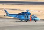 なごやんさんが、名古屋飛行場で撮影した大阪府警察 AW139の航空フォト(写真)