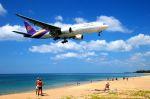 まいけるさんが、プーケット国際空港で撮影したタイ国際航空 777-2D7の航空フォト(写真)