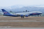 Wings Flapさんが、小松空港で撮影したシルクウェイ・ウェスト・エアラインズ 747-83QFの航空フォト(写真)