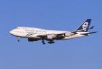 Hiroyuki.Sさんが、成田国際空港で撮影したニュージーランド航空 747-4F6の航空フォト(写真)
