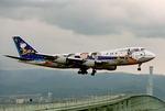 キャッチャーさんが、関西国際空港で撮影した全日空 747SR-81の航空フォト(写真)