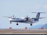 ken1☆MYJさんが、松山空港で撮影したANAウイングス DHC-8-402Q Dash 8の航空フォト(写真)