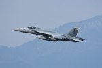 じゃまちゃんさんが、厚木飛行場で撮影したアメリカ海軍 F/A-18E Super Hornetの航空フォト(写真)