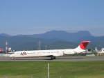 熊五郎~さんが、山形空港で撮影した日本航空 MD-81 (DC-9-81)の航空フォト(写真)
