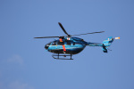 チャッピー・シミズさんが、岐阜県防災航空センターで撮影した神奈川県警察 BK117C-2の航空フォト(写真)