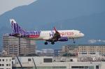 チーフさんが、福岡空港で撮影した香港エクスプレス A320-232の航空フォト(写真)