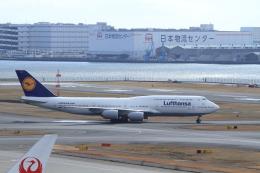 nori-beatさんが、羽田空港で撮影したルフトハンザドイツ航空 747-830の航空フォト(写真)
