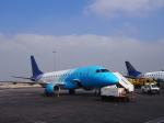ken1☆MYJさんが、カイロ国際空港で撮影したエジプト航空 エクスプレス ERJ-170の航空フォト(写真)