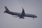 pringlesさんが、長崎空港で撮影したアシアナ航空 A321-231の航空フォト(写真)