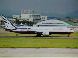 yanaさんが、名古屋飛行場で撮影したカナディアン航空 767-375/ERの航空フォト(写真)