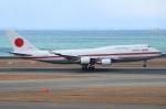Wings Flapさんが、中部国際空港で撮影した航空自衛隊 747-47Cの航空フォト(写真)