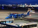 ルビーさんが、福岡空港で撮影した天草エアライン DHC-8-103Q Dash 8の航空フォト(写真)
