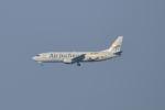 ポン太さんが、成田国際空港で撮影したエア・インチョン 737-4Y0/SFの航空フォト(写真)