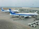 スカイマンタさんが、那覇空港で撮影した全日空 767-381の航空フォト(写真)