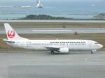スカイマンタさんが、那覇空港で撮影した日本トランスオーシャン航空 737-4Q3の航空フォト(写真)