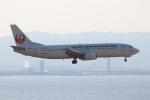 ぽんさんが、関西国際空港で撮影した日本トランスオーシャン航空 737-4Q3の航空フォト(写真)