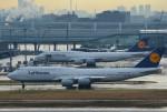 さくらの城南山。さんが、羽田空港で撮影したルフトハンザドイツ航空 747-830の航空フォト(写真)