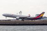 こだしさんが、羽田空港で撮影したアシアナ航空 A330-323Xの航空フォト(写真)