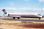amagoさんが、名古屋飛行場で撮影した日本エアシステム MD-81 (DC-9-81)の航空フォト(写真)