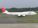 なぁちゃんさんが、成田国際空港で撮影した日本航空 747-446の航空フォト(写真)