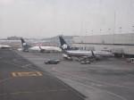 高井怜さんが、メキシコ・シティ国際空港で撮影したアエロメヒコ航空の航空フォト(写真)