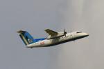 senchouさんが、那覇空港で撮影した琉球エアーコミューター DHC-8-103Q Dash 8の航空フォト(写真)