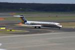 higaponさんが、新千歳空港で撮影した日本エアシステム MD-87 (DC-9-87)の航空フォト(写真)