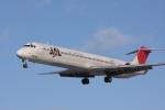 元青森人さんが、仙台空港で撮影したJALエクスプレス MD-81 (DC-9-81)の航空フォト(写真)