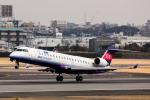 こだしさんが、伊丹空港で撮影したアイベックスエアラインズ CL-600-2C10 Regional Jet CRJ-702ERの航空フォト(写真)