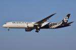 JA8961RJOOさんが、成田国際空港で撮影したニュージーランド航空 787-9の航空フォト(写真)