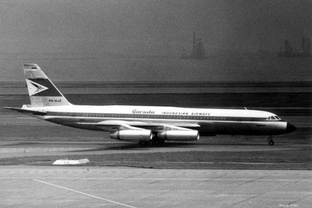 ガルーダ・インドネシア航空 Convair 990 Coronado PK-GJC 羽田空港 航空フォト | by ...