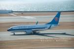 かみきりむしさんが、中部国際空港で撮影した中国南方航空 737-71Bの航空フォト(写真)